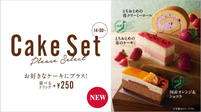 ケーキ 『とちおとめの苺クリーミーロール』『とちおとめの苺のケーキ』『国産オレンジ&ショコラ』