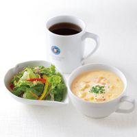 スープ・サラダ・ドリンクセット +¥580